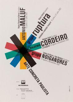 29f7c5913 Alexandre Wollner, 2002 Arte Concreta Paulista 60 x 83,5 cm Cartazes,  Sistema