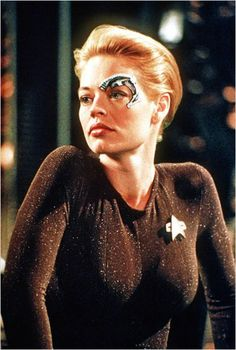 Star Trek: Voyager. Seven of Nine. Great story lines with 7 of 9 .....