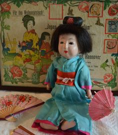 All sizes | Antique Japanese gofun doll | Flickr - Photo Sharing!