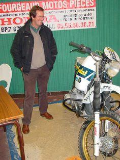 Hubert Auriol 2010 MotoExpo à Limoges / BMW R100 - Paris Dakar 1983
