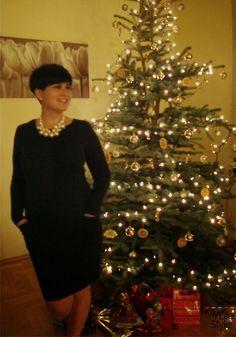 MY LIFESTYLE: 2 w 1 - moja metamorfoza i świąteczna stylizacja
