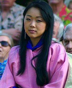 Her Royal Highness Princess Sonam Dechan of Bhutan.  Princess Sonam Dechan Wangchuck, born 5 August 1981, is the oldest daughter of the former king Jigme Singye Wangchuck and Queen Dorji Wangmo.