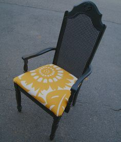 Vintage Furniture Upcycled Arm Chair