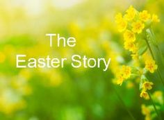 It's never too late to learn about the beautiful story of Easter.