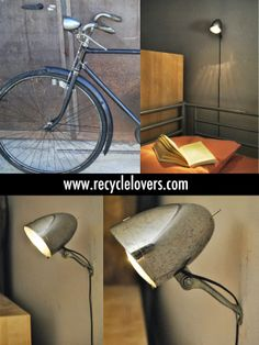 bedside lamp by Recycle Lovers