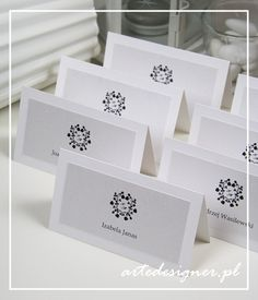 Winietki Vintage / Vintage place cards. Product By / www.artedesigner.pl