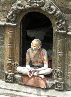 Sadhu. Pashuputinath. Kathmandu