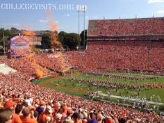 "In preparation of the 2013 college football season, let's recap some of last year's best visits. At Clemson University, I watched ""the best 25 seconds in college football"", talked Tiger football with a nice lesbian couple, plus learned a new drinking game called ""Nipple""."