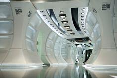 star wars spaceship interior rendering - Google Search