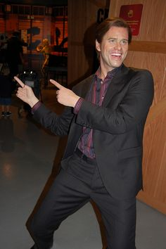 Jim Carey -  Madame Tussauds Wax museum, Hollywood