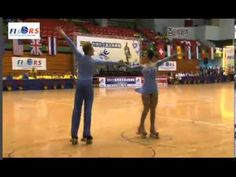31b94efab591 Jessica Gaudy Anthony Deluca - World Class Dance 2013 World Roller Skating  Championships