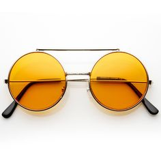 Limited Steampunk Vintage Inspired Circle Round Flip Up Django Sunglasses 8793