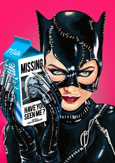 Catwoman | Flore Maquin // Follow Artist on Twitter // Facebook // Instagram More Flore Maquins Artworks More Catwoman Related Artworks