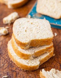 Soft & Chewy Coconut Milk Bread (vegan) - No, it doesn't taste like coconuts. And it's the softest, moistest & best bread ever!