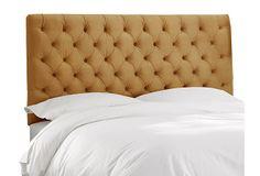 Nevis Tufted Headboard, Camel on OneKingsLane.com