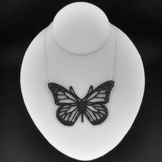 Butterfly Necklace via Etsy