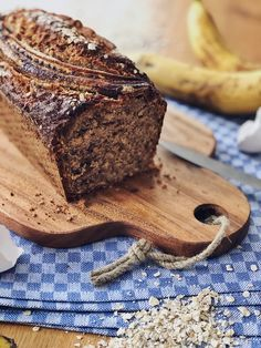 Juicy banana bread with oatmeal and nuts - Juicy banana bread with oatmeal and nuts - Peanut Butter Dessert Recipes, Dessert Recipes For Kids, Chocolate Chip Recipes, Easy Desserts, Elegant Desserts, Fine Dining, Family Gatherings, Bite Size, Weddings