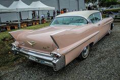 Cadillac de 1958 à Colomiers samedi dernier