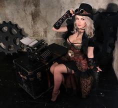 Steampunk Tendencies | Model, cosplayer: Irina aka Captain Irachka