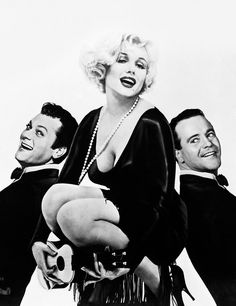 Marilyn Monroe, Tony Curtis, Jack Lemmon - Some Like It Hot (1959)