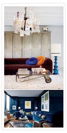 Ambientes masculinos / Ambiances masculines / Men decoration