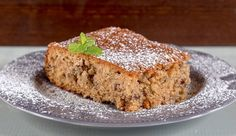 Fanourios Cake by Greek chef Akis Petretzikis. A super aromatic, moist, fluffy Greek cake that you can make for any special occasion or just for your family Greek Sweets, Greek Desserts, Greek Recipes, Raw Food Recipes, Fun Desserts, Food Network Recipes, Meatless Recipes, Greek Cake, Greek Cookies
