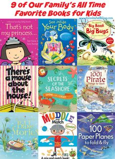 9 of Our Family's All Time Favorite Books for Kids - Picked by a mama who is also a teacher!