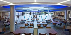 Backlit Stretch Ceiling Systems @ Corporate Dining Area