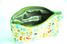 Coin purse small and cute zipper pouch by manufattofattoamano, $16.00