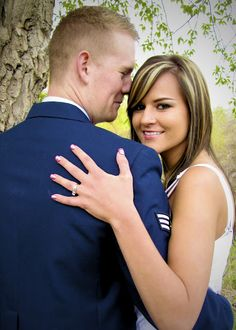Abi & Shelly: Just pinned because it was an Air Force couple :)