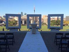 Ceremony at Liberty Memorial