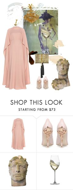 """""""Fallen idols"""" by palmgrass99 ❤ liked on Polyvore featuring Valentino, Chanel, RALPH & RUSSO, Riedel and Roberto Cavalli"""
