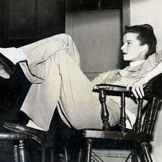 The Katharine Hepburn Look Book - Nothing Cooler