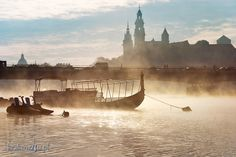 Vistula River, Cracow, Poland