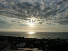 Océan indien vu de Saint-Leu, Réunion.  Indian Ocean.
