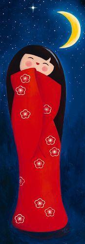 Sous la lune de Myriam Lakraa