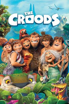 The Croods is a prehistoric comedy adventure that follows the world's first family as they embark on a journey of a lifetime when the cave that has always shielded them from danger is destroyed. Traveling across a spectacular landscape, the Croods discover an incredible new world filled with fantastic creatures — and their outlook is …