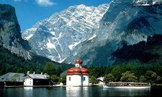 Die Reise in die Alpen