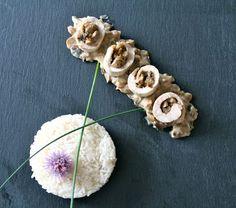 www.invitationsgourmandes.fr ballotines-de-poulet-aux-champignons-et-aubergines-sauce-creme-au-porto