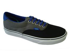 Vans Era 59 Black/Pewter 3 Tone.  £35.99 Mens Vans Shoes, Keds, Pewter, Sneakers, Black, Fashion, Tin, Moda, Black People