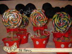 Centro de mesa mickey mouse - FIESTAIDEAS.com