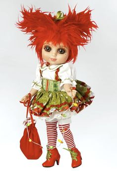 "ADORA BELLE KRISTI KRINGLE Marie Osmond Mop Top Collection 13"" BJD DOLL NRFB…"