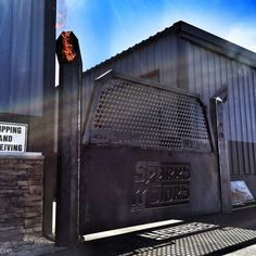 When building a new shop gate, security is the top priority.that's why the gates we build come standard with 12 ft tall flame throwing stacks. Diesel Brothers, Truck Mods, Man Room, Diesel Trucks, Welding Projects, New Shop, Restoration, Outdoor Ideas, Gates