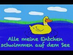 Alle meine Entchen - Kinderlieder deutsch zum Mitsingen