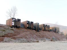 Image 1 of 1 from gallery of Is the Pritzker Prize Still Relevant Today? Rural House designed by RCR Arquitectes. Rafael Aranda, Carme Pigem, and Ramón Vilalta of RCR Arquitectes won the Pritzker last year. Image Courtesy of RCR Arquitectes Architecture Résidentielle, Contemporary Architecture, Rural House, Prefab Homes, House Design, Girona Spain, Discovery, Gallery, Couple