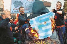 Η ΜΟΝΑΞΙΑ ΤΗΣ ΑΛΗΘΕΙΑΣ: Σκοπιανοί και «κουκουλοφόροι» κατά των Ελλήνων