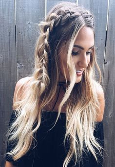 Long hair is fine for braiding, as braids look stunning, gives feminist look and useful manner to fashion your longer locks