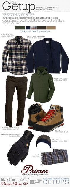 The Getup: Freezing Winter | Primer | Personal Design & Style | Pinte…