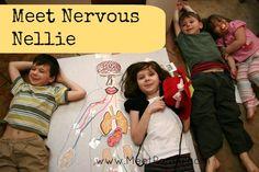 Zdarma tisknout hru pomáhat studovat nervový systém od www.MeetPenny.com s Apologia anatomie