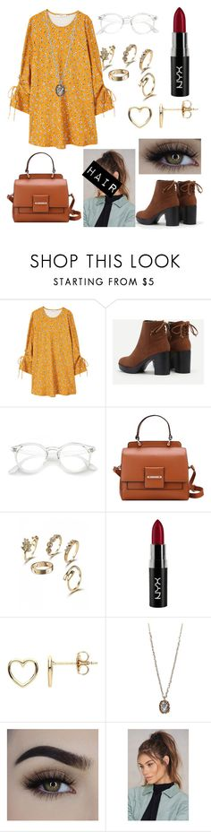 """""""Style in Vintage!"""" by agent-butterfly731 ❤ liked on Polyvore featuring MANGO, NYX, Estella Bartlett, Betsey Johnson, NA-KD, modern and vintage"""